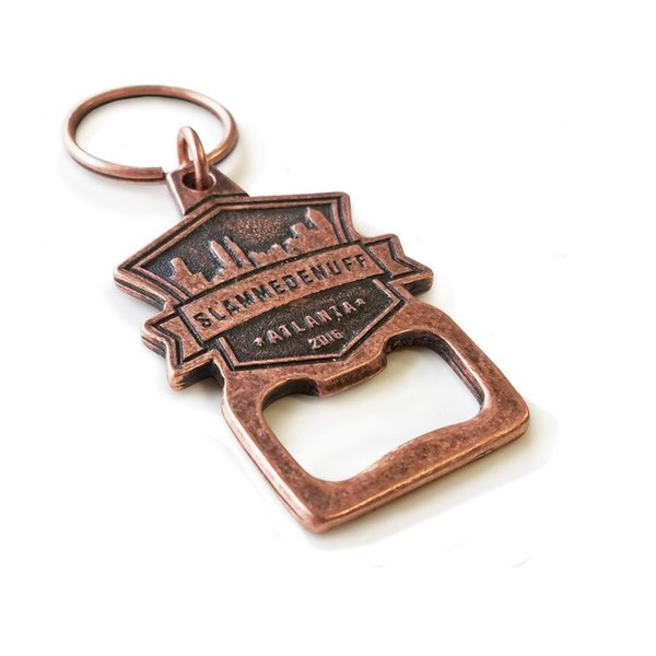 Custom Antique Copper Plating Bottle Openers Souvenir Bottle Openers with Your Own Logo