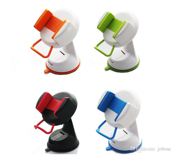 The new car phone holder Car bracket Instrument stand Car sucker mobile phone stent free shipping