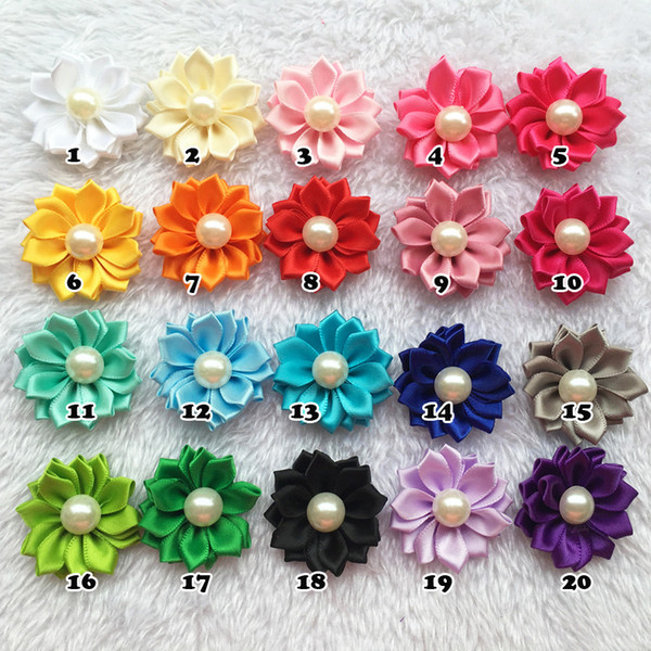 100pcs/Lot Dog Hair Bows Petal Flowers Bows Pet Dog Hair Grooming Bows Hair Accessories Product For Dog