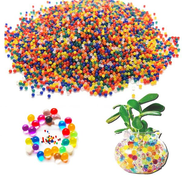 beads orbeez HOT Growing Water Home Decor Hydrogel Balls Plant Crystal Soil Water Beads Orbeez Big Balls Orbiz Growing Bulbs