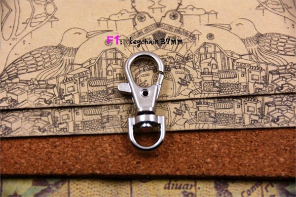 Metal Color:keychain