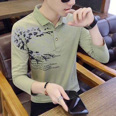 Paul, Long Sleeves, T-shirts, Autumn Clothes, Autumn Decorating, Pure Cotton Polo Shirts, Fashionable Young Shirts, And Autumn Clothes