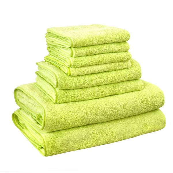 KISS QUEEN super soft bath towel set solid hand face towel for bathroom kitchen