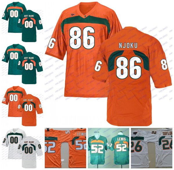 huge discount 0f82e 8fad2 2019 NCAA Miami Hurricanes #86 David Njoku 4 Devin Hester 3 Travis Benjamin  6 Lamar Miller Green Orange White Stitched College Football Jerseys From ...