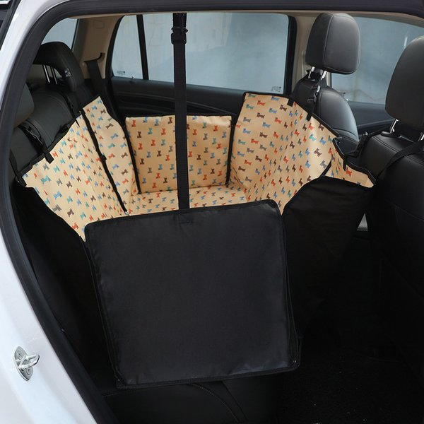 New Dog Car Seat Cat Carrier Pet Rear Back Seat Dog Carrier Mat Blanket Cover Mat Hammock Waterproof Car Seat Cover for Pets