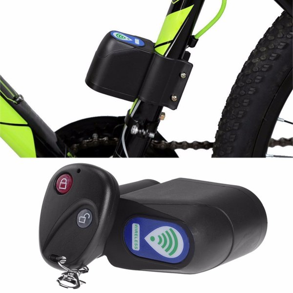 RUNACC Professional Anti-theft Bike Lock Cycling Security Lock Remote Control Vibration Alarm Bicycle Vibration Alarm