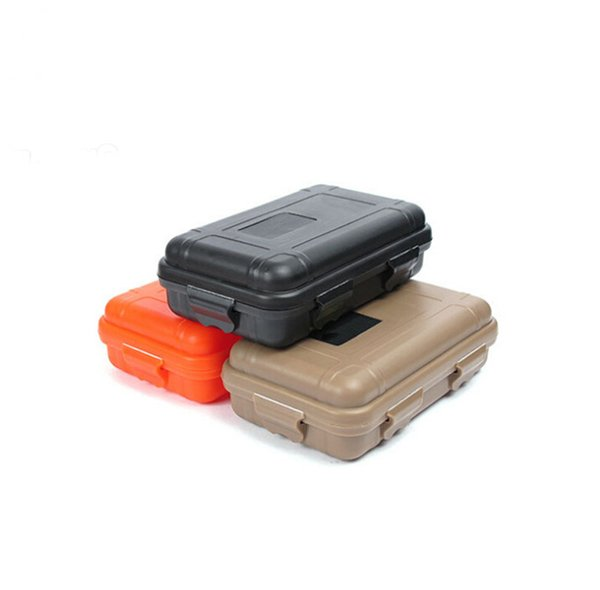 Outdoor Sport Gear Shockproof Waterproof Box Sealed Box EDC Tools Wild Survival Storage Box Hot Sale Free Shipping