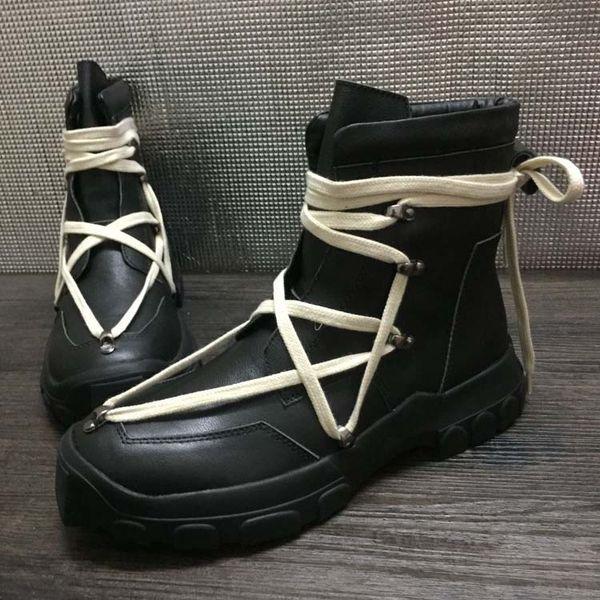 Großhandel Herren Rock Desert Boots Winter Martin Stiefel Aus Echtem Leder Plattform British Trend High Bangding Herrenstiefel Von Junjietrade668,