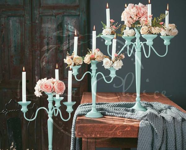 Großhandel Hochzeit Kerzenhalter Europäischen Party Decor Duft Romantisches Geschenk Candlelight Dinner Hochzeit Requisiten Bumiel Blume Von Clndy007