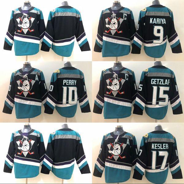 authentic 15 ryan getzlaf black teal authentic player jersey anaheim ducks  9 paul kariya 10 86627 2da44c212
