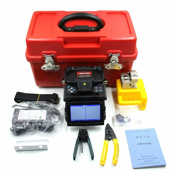 DVP-740 Fiber Optic Core To Core Alignment Fusion Splicer 0.02dB Splice Loss With 5 Languages