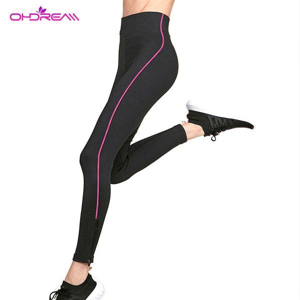 OHDREAM Donna Running Pants Hot Thermo Soft Sweat Body Shaper Fitness Stretch Vita alta Slim Jogger Sport Pantaloni Sauna Abbigliamento G