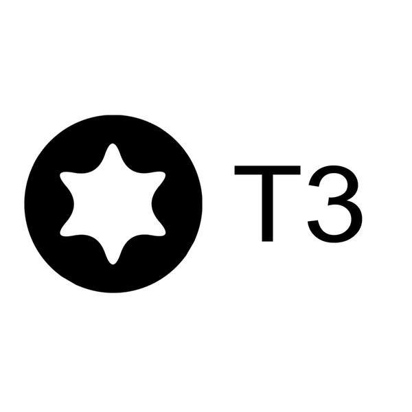 Torx T3