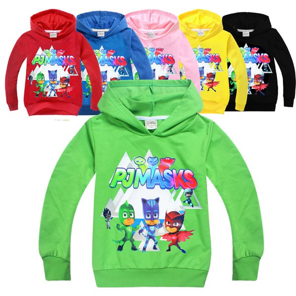 top popular Boys Girls Hoodies Spring Autumn Hooded Outwear Clothing Cartoon Fashion Long Sleeve Kids Sweatshirts Infant Tops Boutique Clothes 2019