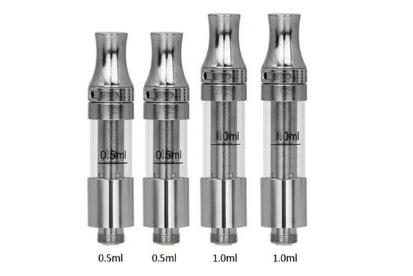 DHL Free Liberty V9 cartridge Top Airflow Adjustable Thick Oil Touch Vaporizer Ceramic Coil Empty Vape Pen Cartridges