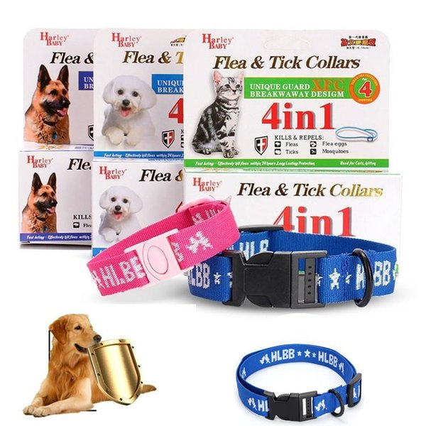 Hot sale 3 sizes Mosquito Repellent Collar Nylon Flea collar For Pets cat dog Pest Control T3I0384