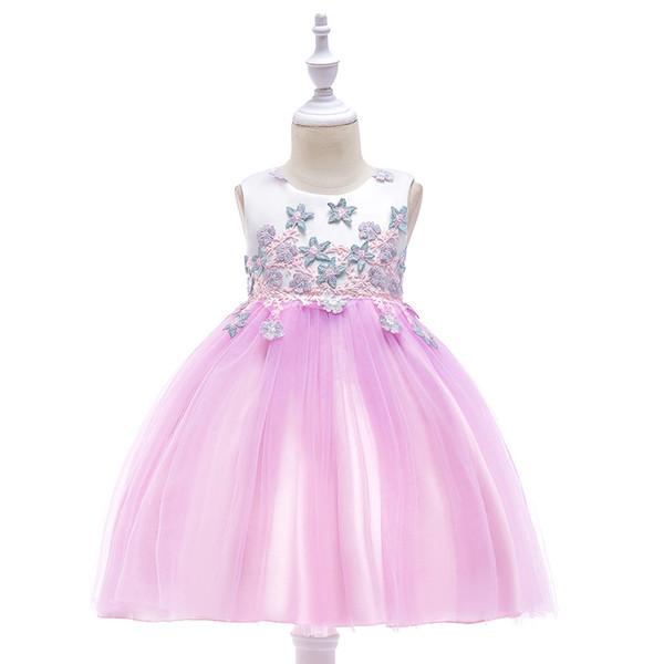 Child Flower Girl Dresses for Weddings Princess Birthday Dress for Little Girls Evening Gowns Kids Prom Dresses