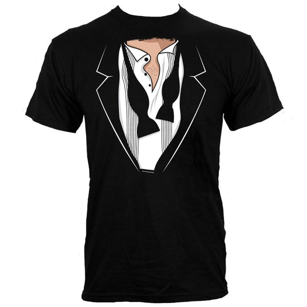 2f7d55d82 Men Clothes 2018 Hip Hop Harajuku Shirts Open Tuxedo Men's Black T-shirt  Hip Hop