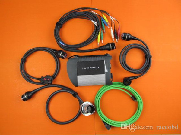 best quality with wifi for mb star c4 car and truck diagnostic tool without hdd dhl free shipping