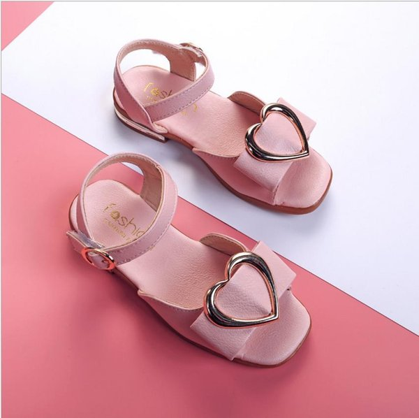 2018 summer new girls cool children's shoes princess shoes baby children's beach shoes big children cool