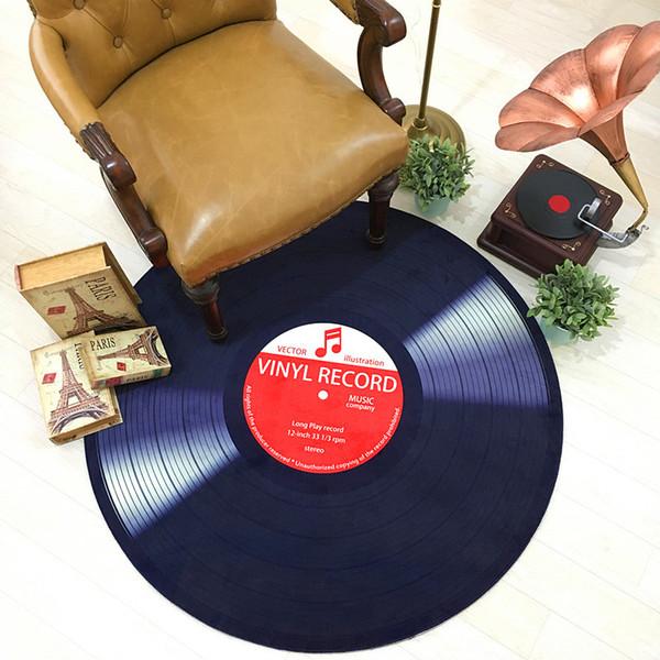 Astonishing 2019 Cd Mat Kitchen Carpet Record Round Ground Mat Cushion Antique Sofa Chair Cushion Side A Few Study Model Room Decorate Carpet Anti Slip Rugs From Creativecarmelina Interior Chair Design Creativecarmelinacom