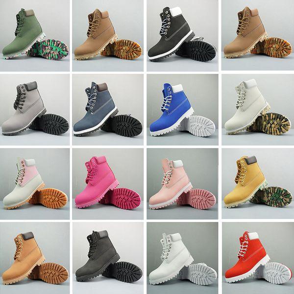 Timberland boots  de la marca ACE Original Mujeres Hombres Diseñador Deportes Rojo Blanco Invierno Zapatillas de deporte Casual Entrenadores Hombres Mujeres Zapatos de diseñador de lujo de arranque