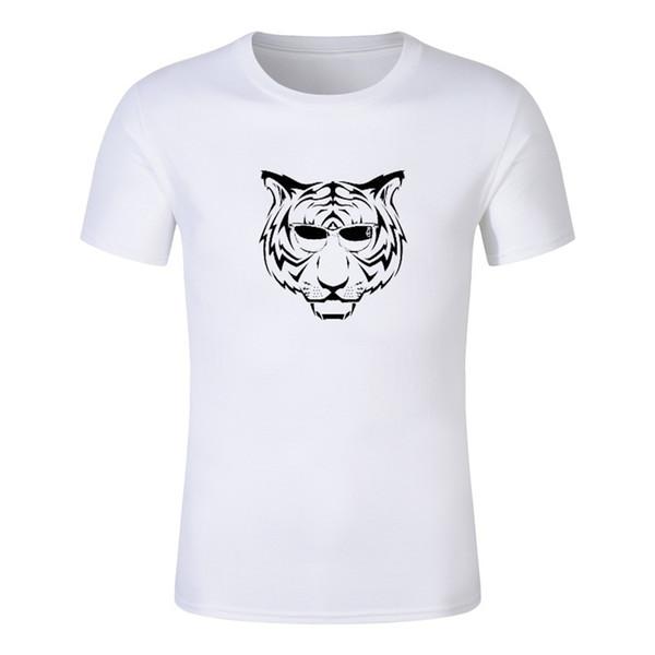 Lunettes de soleil Tiger hommes drôles d'été T-shirt Homme stephen king imprimé Halloween pennywise it Personnalisé de haute qualité clown Tops T-shirts t-shirt