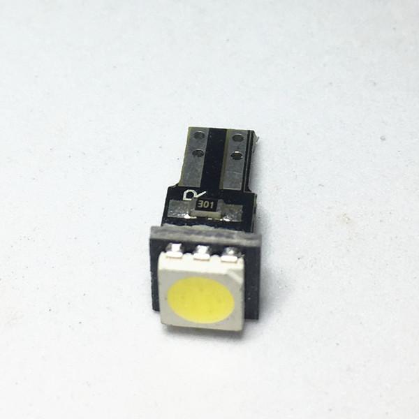 1 adet Seramik Pano Göstergesi Enstrüman Seramik T5 Led 1SMD 5050 Araba Oto Yan Kama Işık Araba İç Lamba Ampul DC 12 V Işık