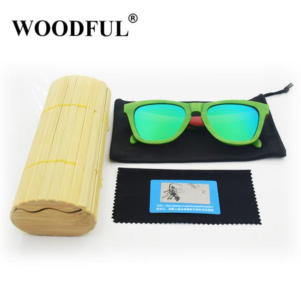Latest OEM custom skateboard wooden sunglasses