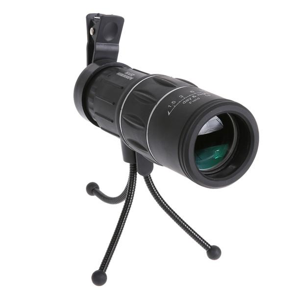 Telescopio Monocular 16x52 Dual Focus Telescopio monocular / Monocular Scope para prismáticos de turismo de deportes al aire libre venta caliente