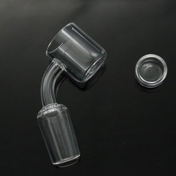 Çıkarılabilir ekle ile 2mm XL düz üst kuvars banger tırnak Damla Bal Kova 10mm 14mm 18mm Kuvars için Termal Banger Tırnak Cam Bongs