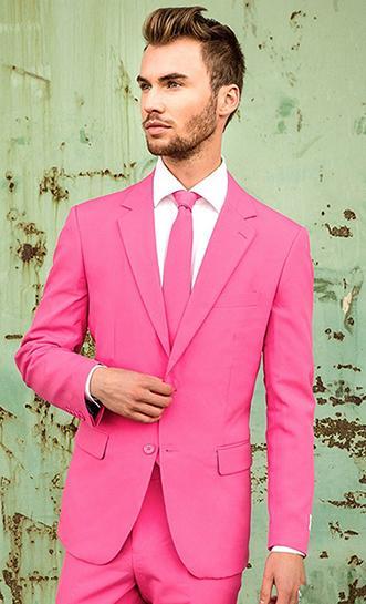 Smoking dello sposo bavero notch su misura Groomsmen Pick Abiti uomo Nozze / Prom Best Blazer / Sposo uomo (giacca + pantaloni + cravatta) M548
