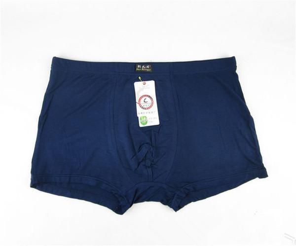 ¡Venta caliente! Ropa interior suave de bambú respirable de los hombres mediados de pantalones cortos del boxeador de la cintura / bragas de los hombres de la altura más tamaño XL, XXL, XXXL, 4XL, 5XL