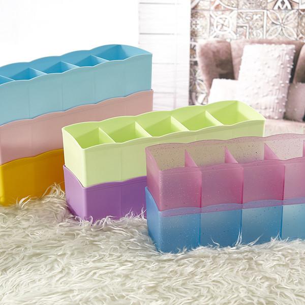 5-grids Organizer Aufbewahrungsbox Schublade Kisten Unterwäsche Socken Storage