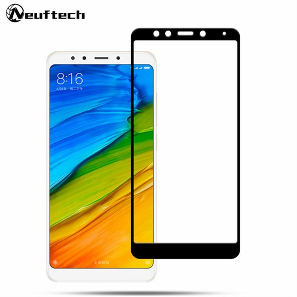 Screen Protector For Xiaomi Redmi S2 4X 4A Full Cover Tempered Glass Protective Glass On the For Redmi 5 Plus Note5 Pro 5A