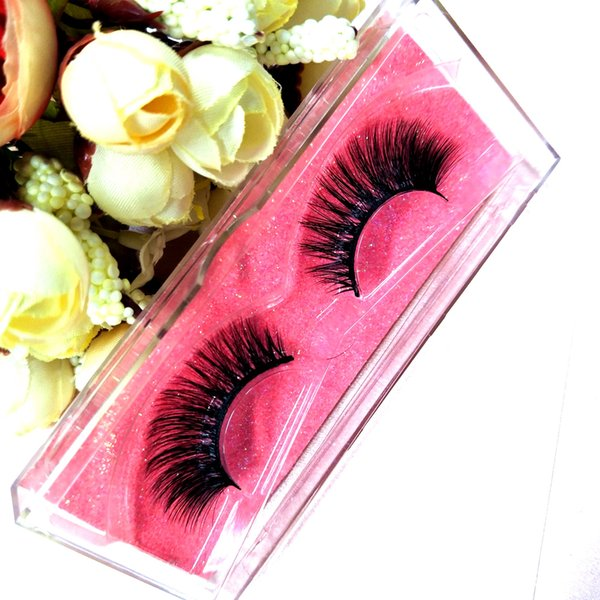 SEALASHES LASHES Premade Lashes 100% 3D Sexy Mink Lashes 10pcs per pack Customize boxes Handmade Top Real Mink Eyelashes Extension