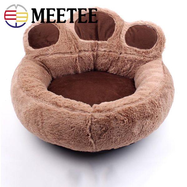 MEETEE 2018 Hot Dog house cat nest strawberry nest pet cage wholesale Warm plush pet nest Dog mat