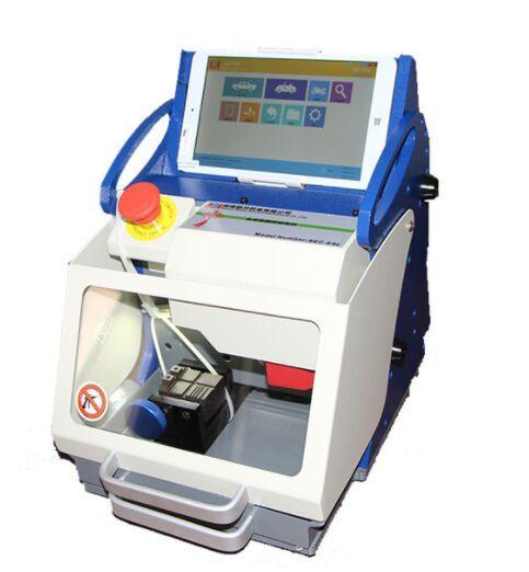 New 100% Original DHL Free CNC Car Keys Cutting Machine Full Automatic Key Duplicate Machine Numerical Control Key Copier SEC-E9z