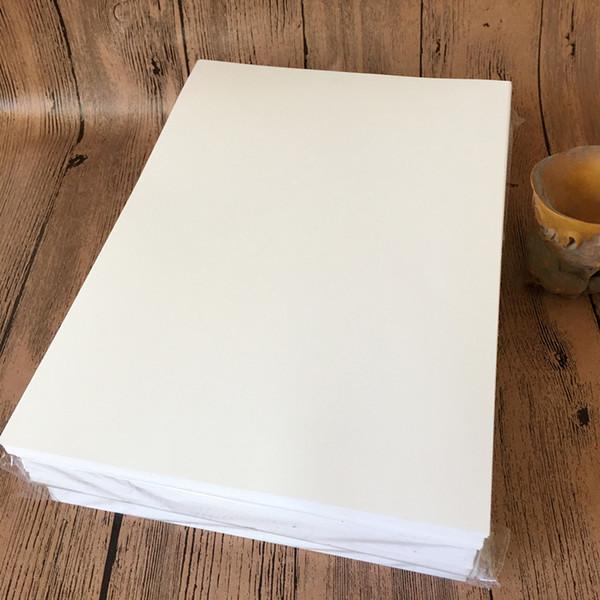 A4 Em Branco À Prova D 'Água Papel Adesivo Branco a4 Papel PP Etiqueta Etiqueta Especial Para Impressora Jato de Tinta QW7240