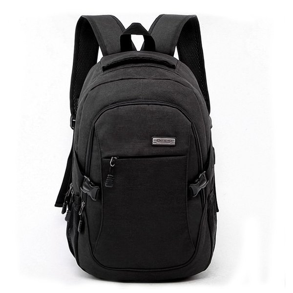 LJL Laptop Backpack with Usb Charging Port Business Water Resistant Polyester and Notebook Bag