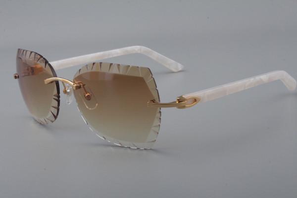 18 new and unique design  lens sunglasses 8300817--A2 fashion plate mirror legs sunglasses, sun visor