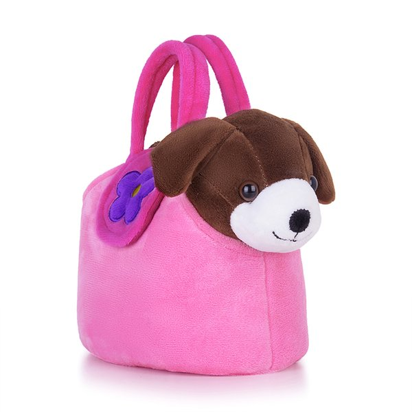 plush puppy Lazada Plush Puppy Toys Stuffed Animal Dog Doggy Dolls With Pink Hand Bag Christmas Gifts For Children Kids Boys Girls