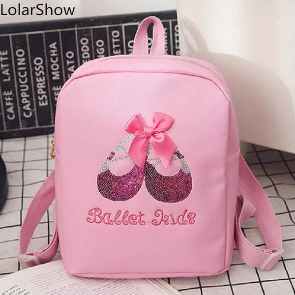 Ballet Dance School Student Girls Waterproof PU Wholesale Dance Bag