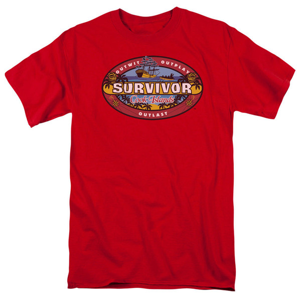 Survivor TV Show TIME TO GO Licensed T-Shirt All Sizes