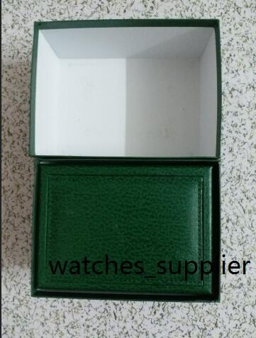 top quality Luxury watch Mens For Watch Box Original Inner Outer Womans Watches Boxes Men Wristwatch Green box booklet card q18