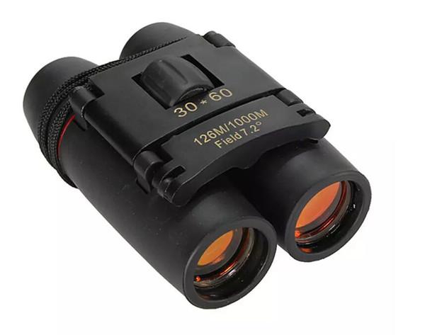 30x60 Day And Night Camping Travel Vision Spotting Scope 126m/1000m Optical military Folding Binoculars Telescope