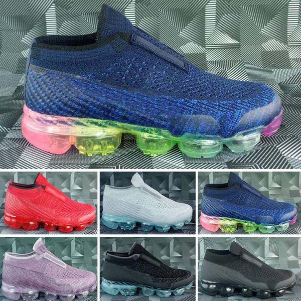 Nike air max Zapatos para niños 2018 Zapatos para correr Zapatos atléticos para niños Bebé niña Entrenamiento Zapatillas deportivas Todo Negro Blanco Gris Naranja Púrpura Sin caja