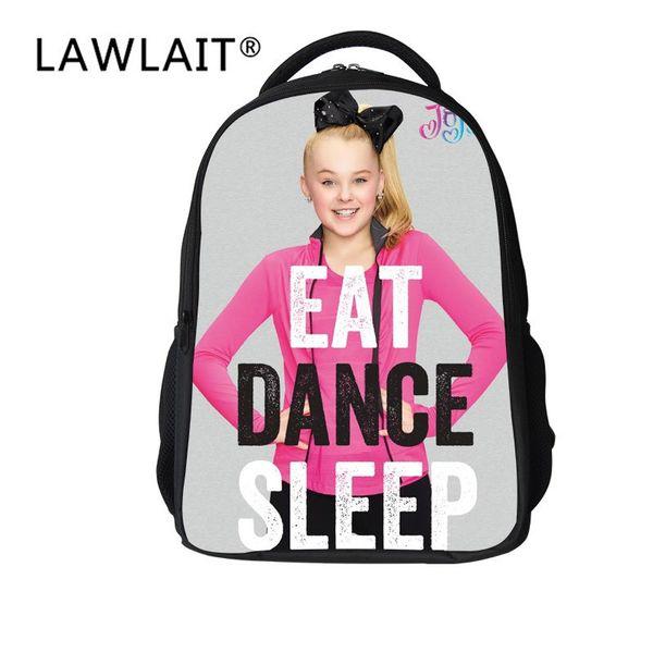 Fashion Waterproof School Bag Casual Travel Jojo Siwa Backpack Durable Book Clothes Water Bottles Storage Bags Practical 52ys BB