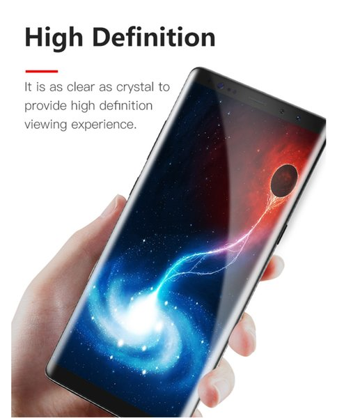 High quanlity 3/5D full cover tempered glass screen protector 3/5D curved full cover tempered glass screen protector for any mobile