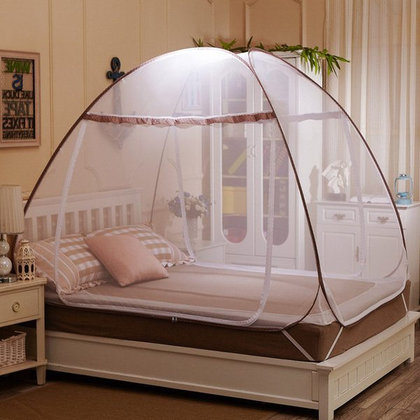 Fashion Mosquito Netting Folding Mosquito Net for Travelling,Kids Canopy Luxury Mosquito Nets Tent,Mesh Mosquitoe Net Lace for Girls Bed